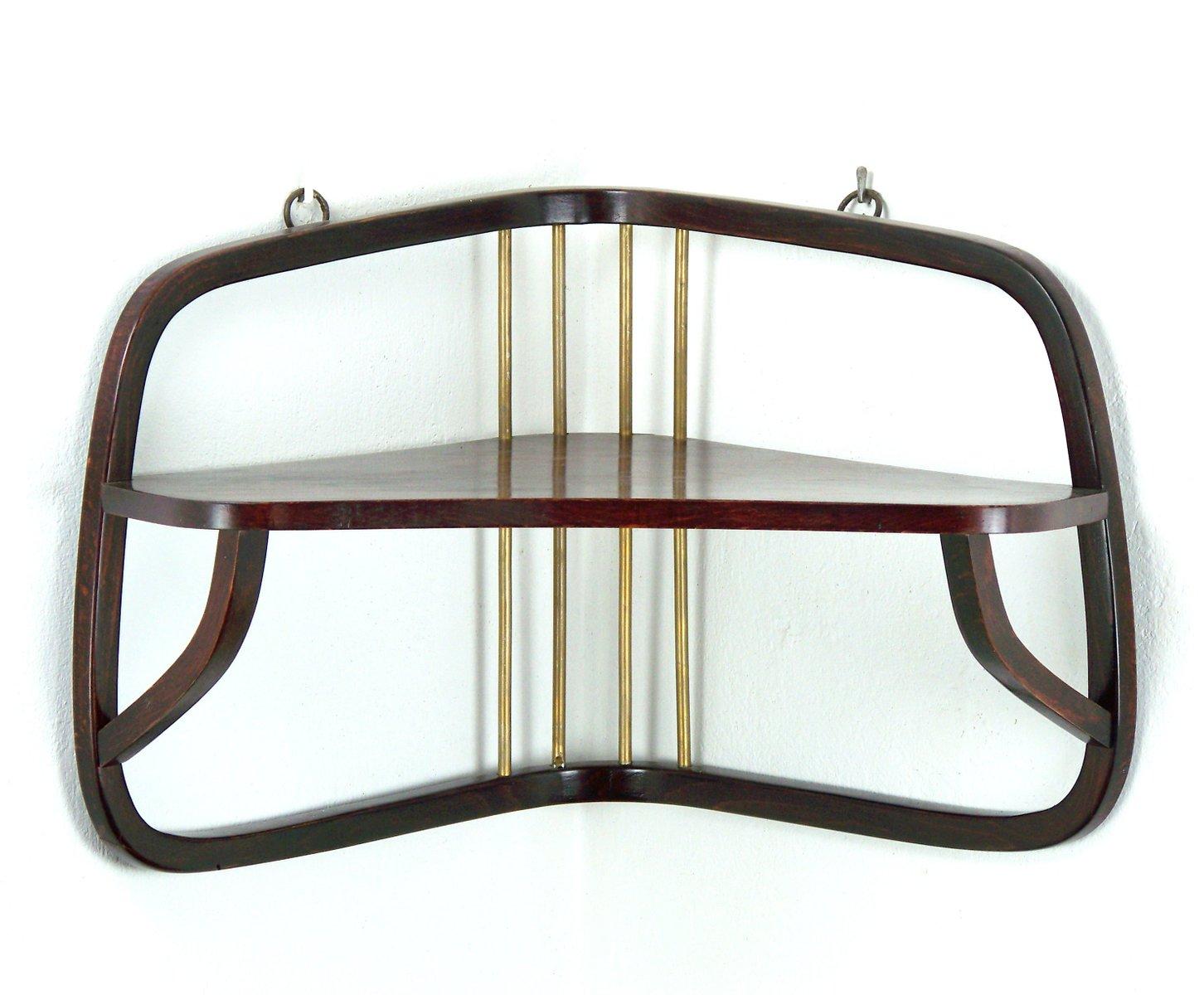 h ngende wiener sezession no 58 ablage von thonet 1900er bei pamono kaufen. Black Bedroom Furniture Sets. Home Design Ideas
