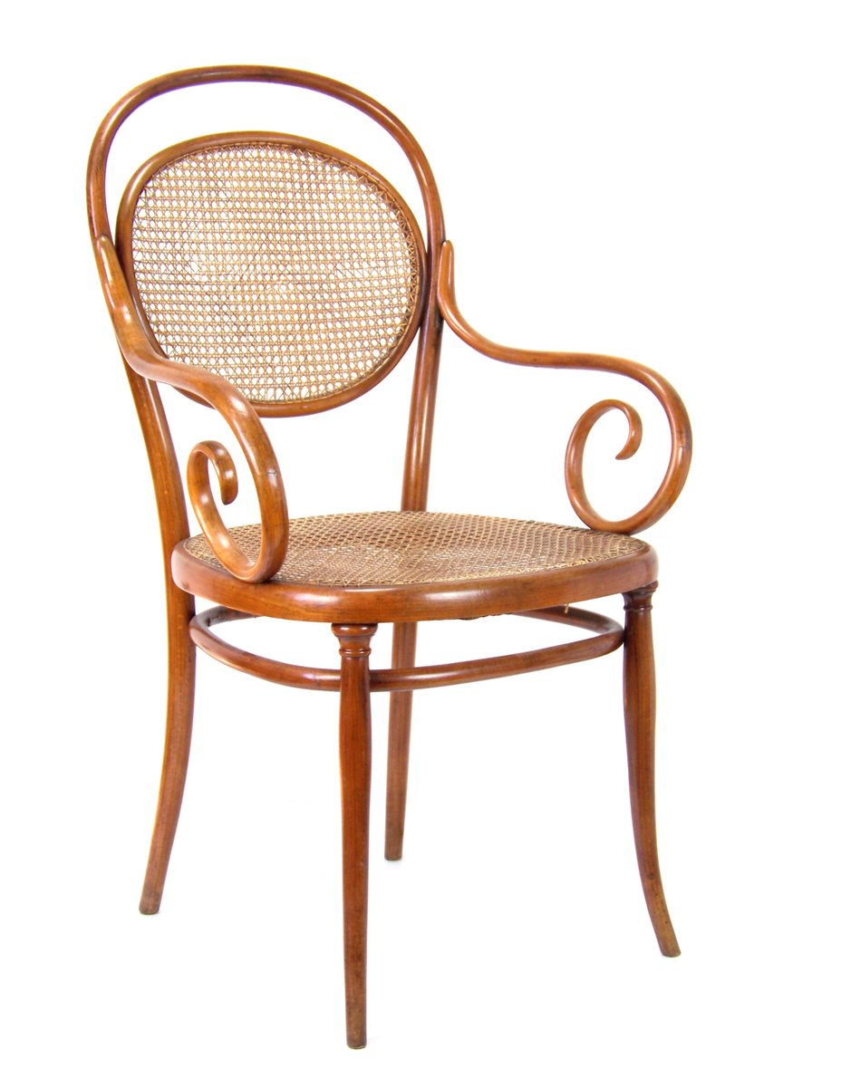 11 Viennese Armchair From Thonet, 1860s