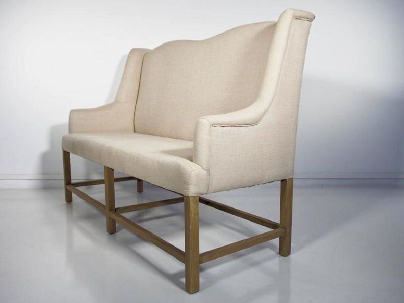 Sofa With Wooden Frame For At Pamono