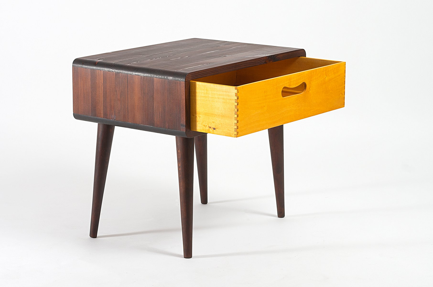 Mid Century Side Table With Drawer 4 446 00