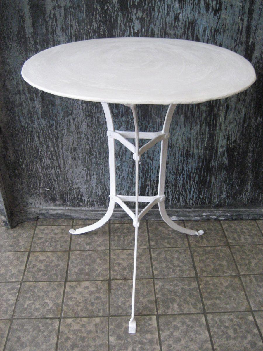 Bezaubernd Runder Gartentisch Das Beste Von Stahl Gartentisch, 1930er
