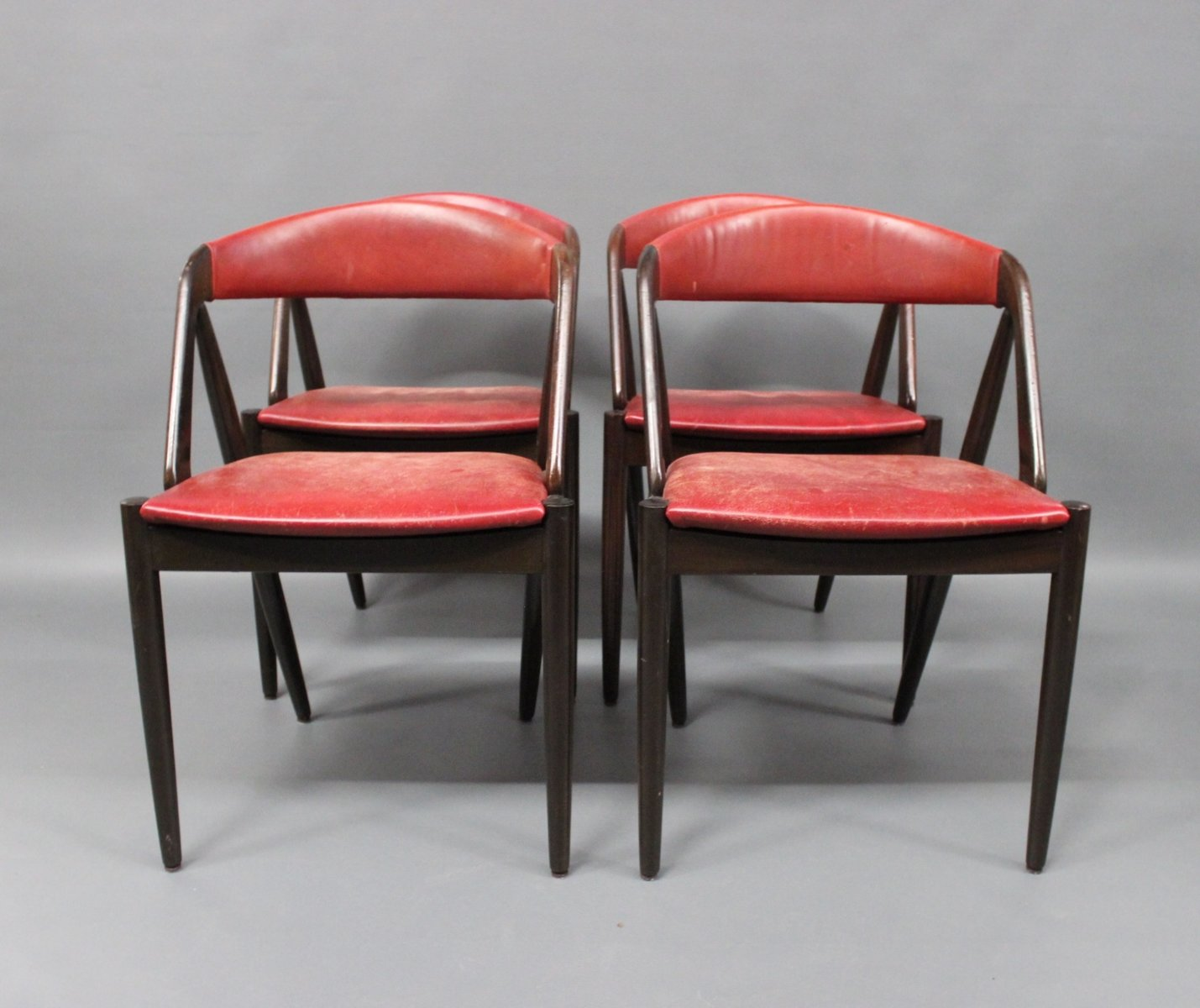 Vintage Dining Room Chairs: Vintage Model 31 Dining Room Chairs By Kai Kristiansen For