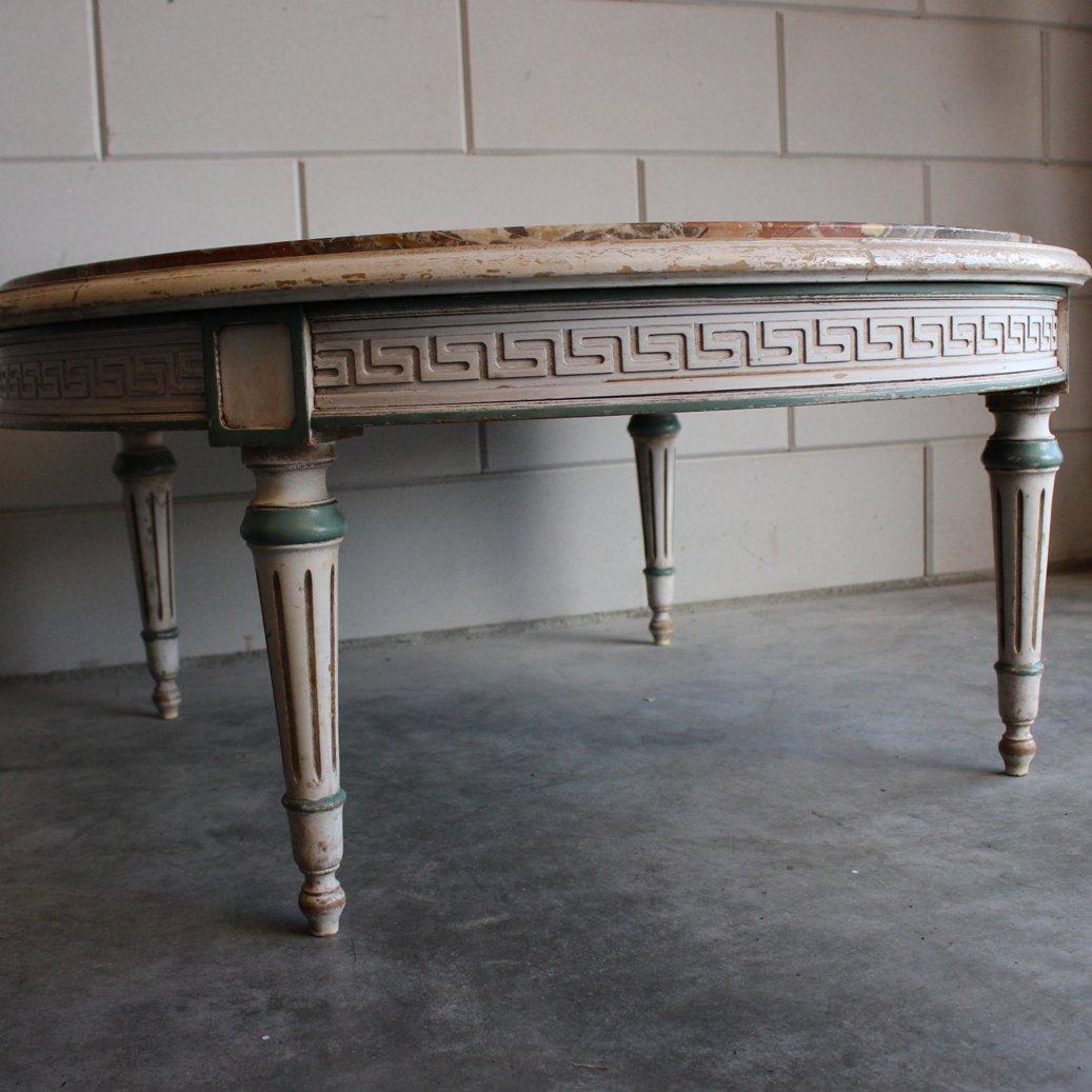 table basse en marbre par j f pogge zoon 1970s en vente sur pamono. Black Bedroom Furniture Sets. Home Design Ideas