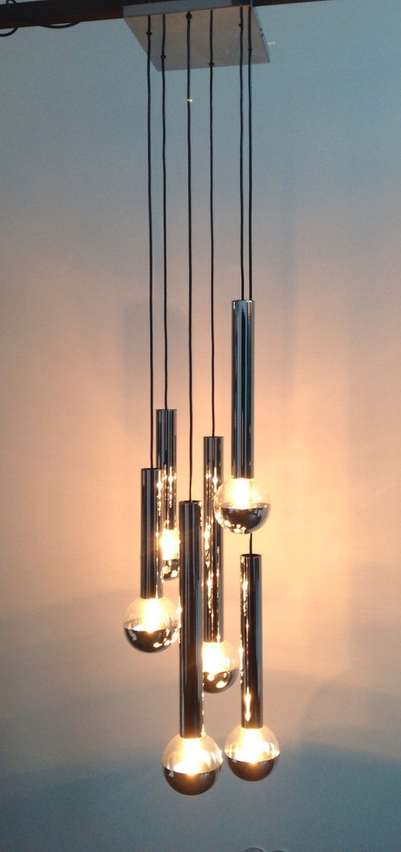 Deckenlampe von Motoko Ishii für Staff, 1960er