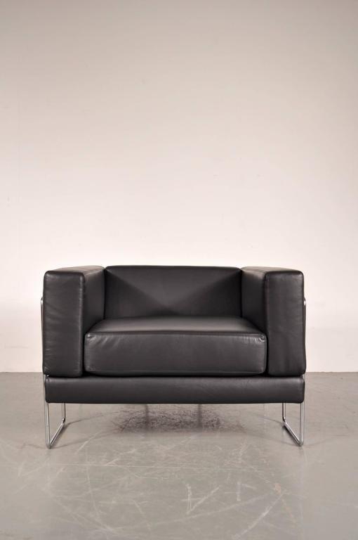 Französischer Sessel von Kwok Hoi? Chan für Steiner, 1969