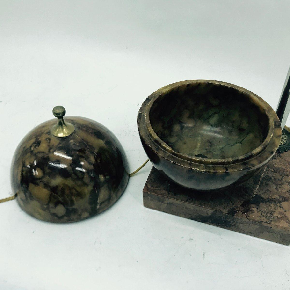 lampe de bureau globe art d co france 1930s en vente sur pamono. Black Bedroom Furniture Sets. Home Design Ideas