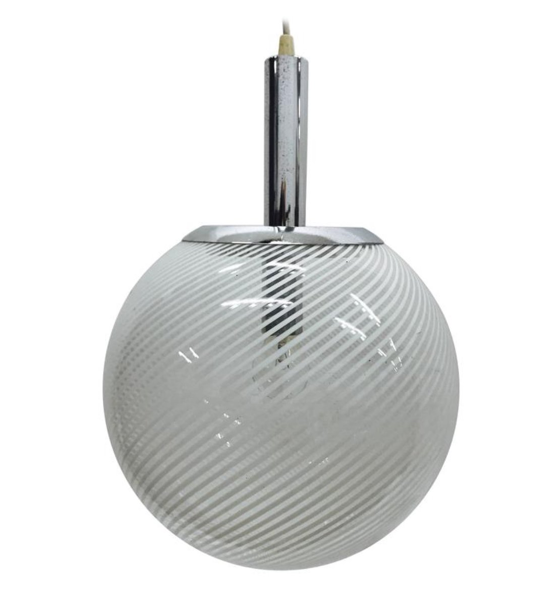 Vintage space age round pendant light from venini for sale at pamono vintage space age round pendant light from venini aloadofball Images