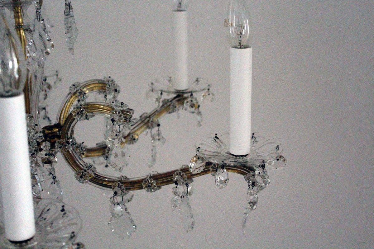 Kronleuchter Behang ~ Kronleuchter mit kristall behang er bei pamono kaufen