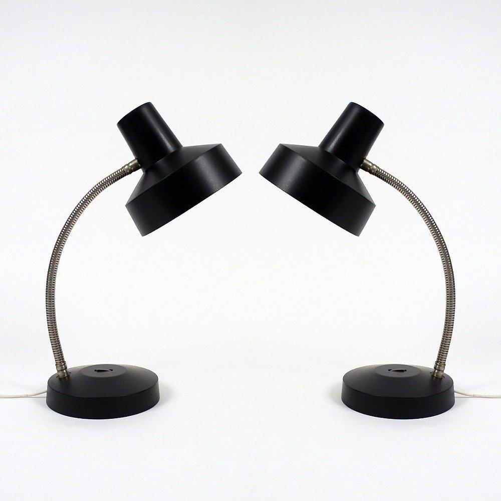 Vintage Schreibtischlampen, 2er Set