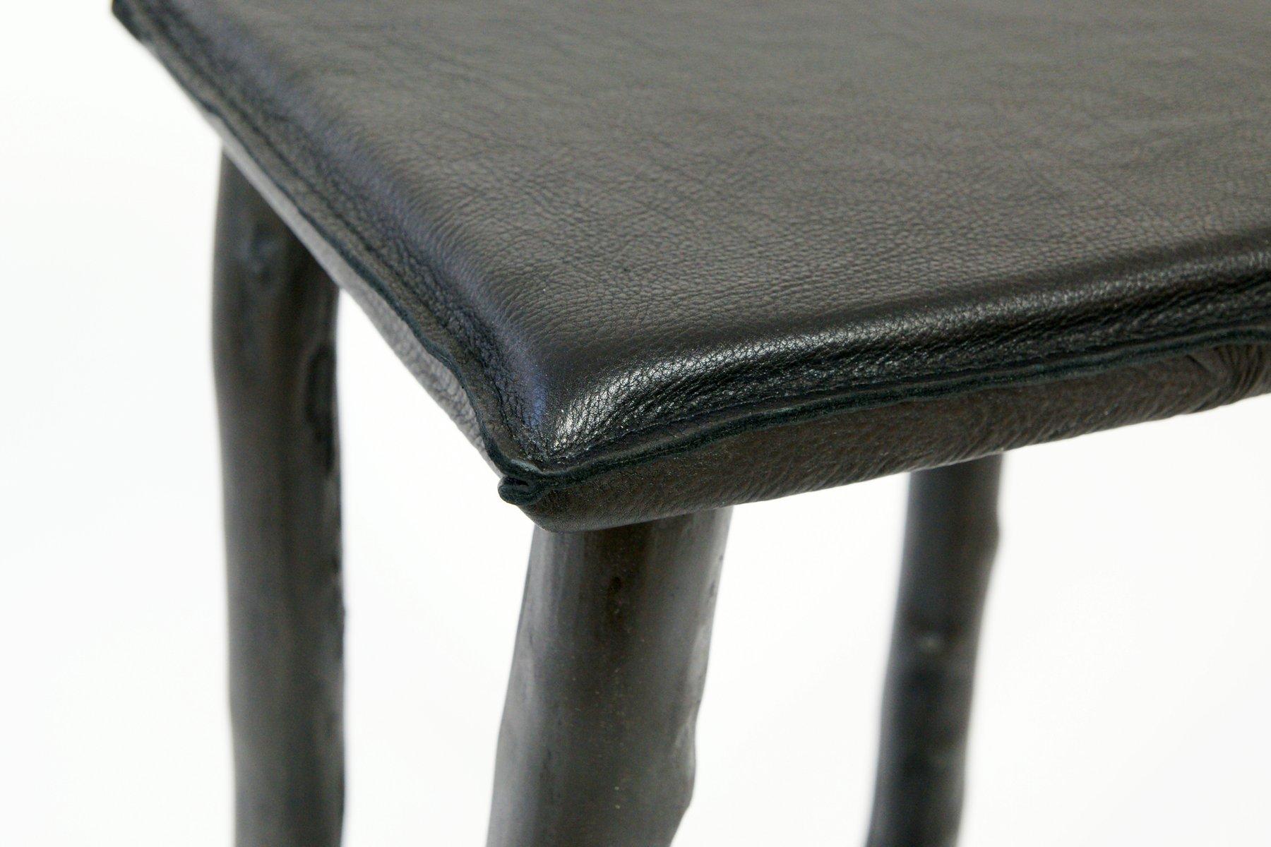 Ghisa sgabello da bar legno rustico sedile vintage industriale