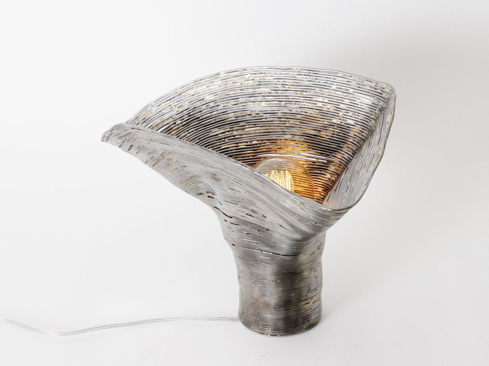Wrap Tischlampe aus Erle von Johannes Hemann