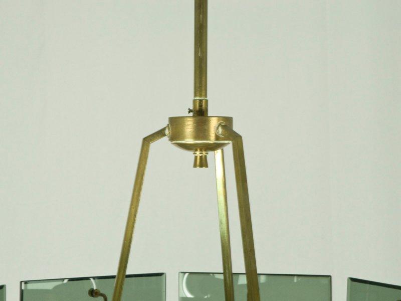 Italienische h ngelampe mit acht leuchten von cristal arte for Italienische leuchten