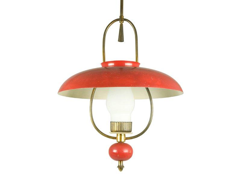 Laternen Lampe von Stilnovo, 1940er