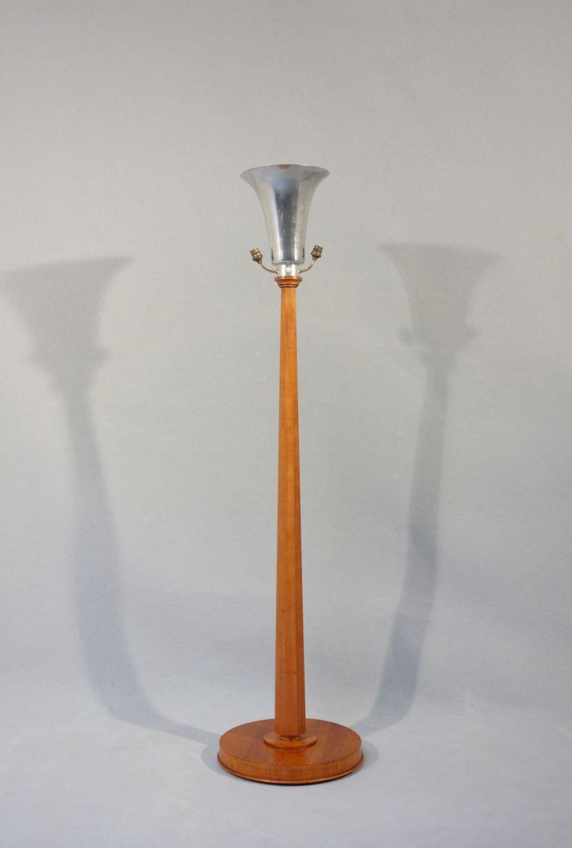 Art Déco Kegelstumpf Stehlampe, 1930er