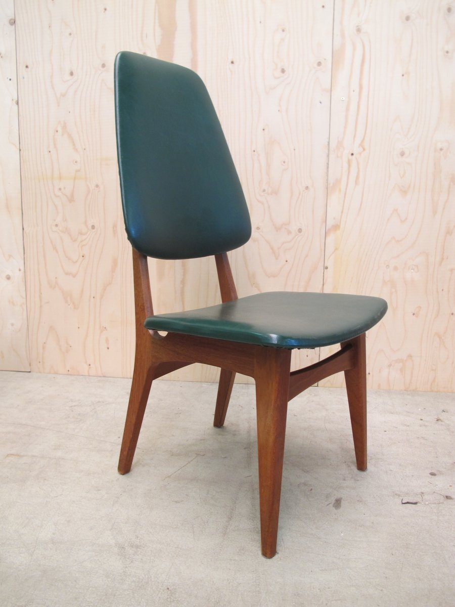 Vintage Scandinavian Teak Dining Chairs By Bruk Sorheim For Sorheim Mill,  Set Of 4