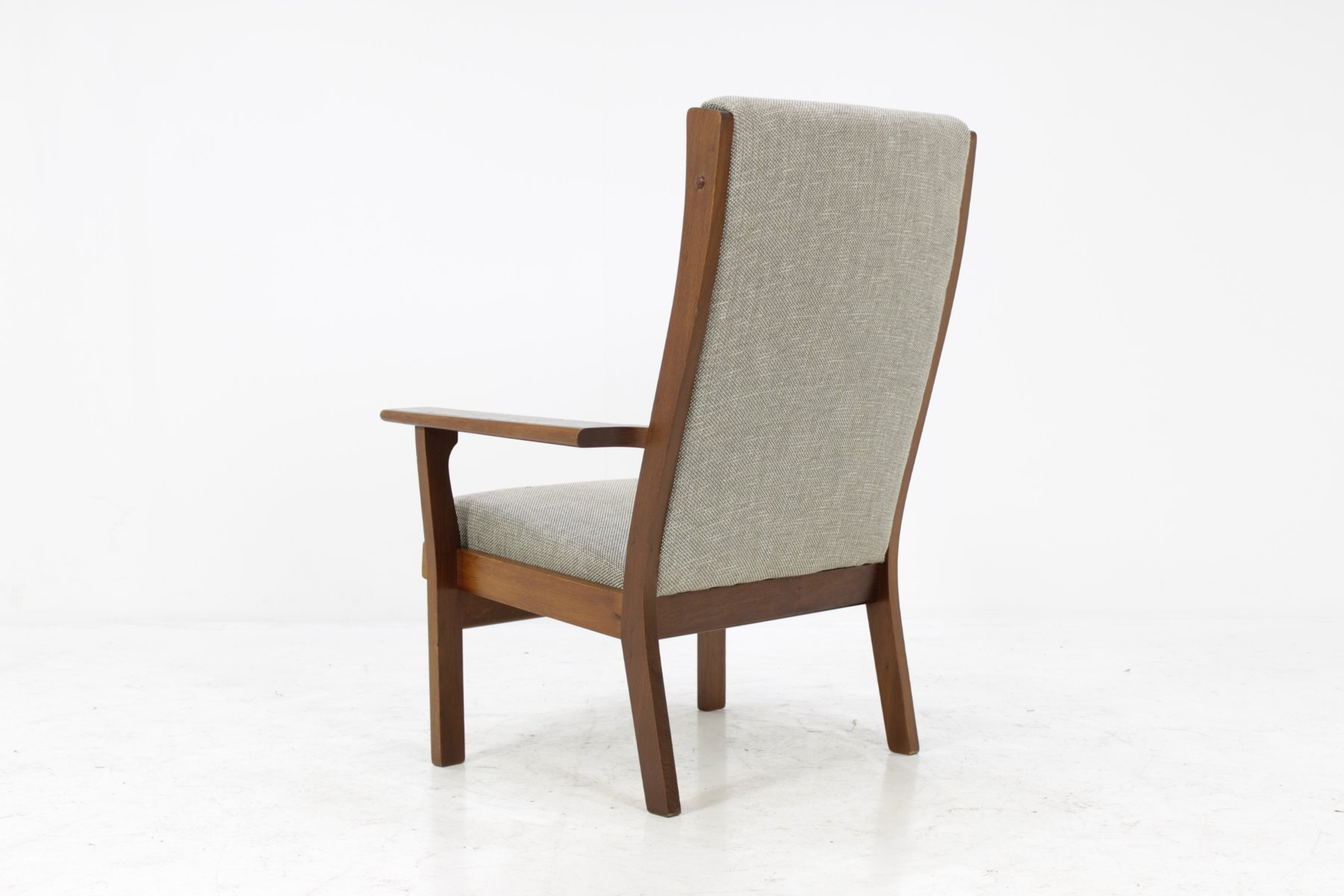 Vintage Ge181a High Back Easy Chair By Hans J Wegner For Getama