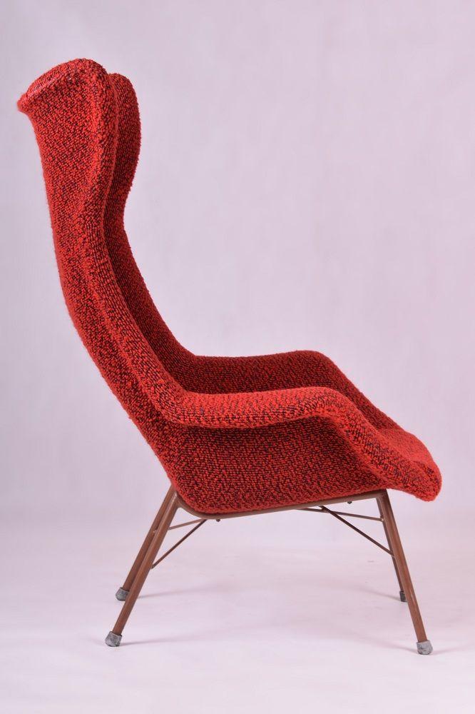 vintage sessel von miroslav navr til bei pamono kaufen. Black Bedroom Furniture Sets. Home Design Ideas