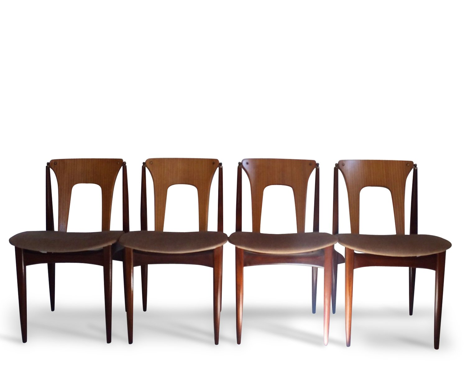 We Re Crushing On The Primitive Country Decor In This City: Mid-Century Dining Chairs By Elliotts Of Newbury, Set Of 4