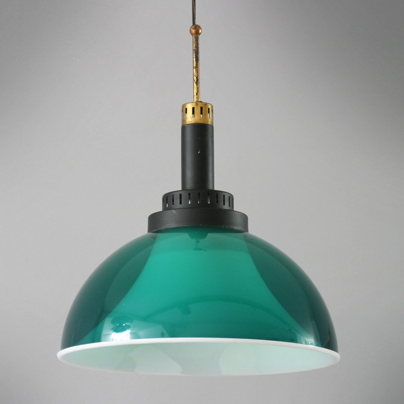 Italienische Perspex Lampe von Stilux