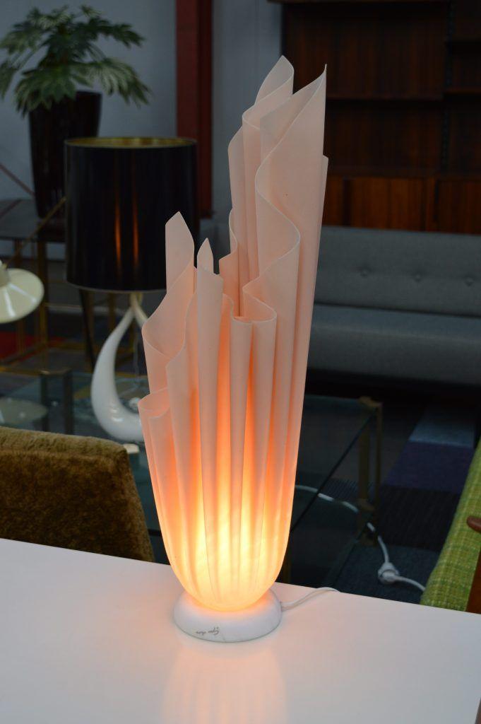 Athena Tischlampen von Georgia Jacob, 1970er, 2er Set