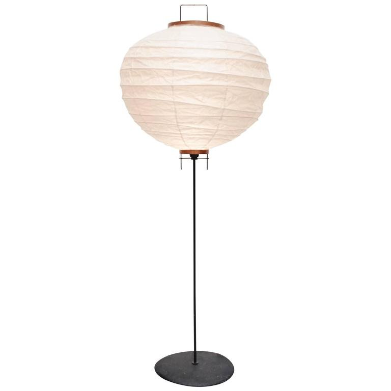 Stehlampe von Isamu Noguchi für Ozeki & Company, 1950er