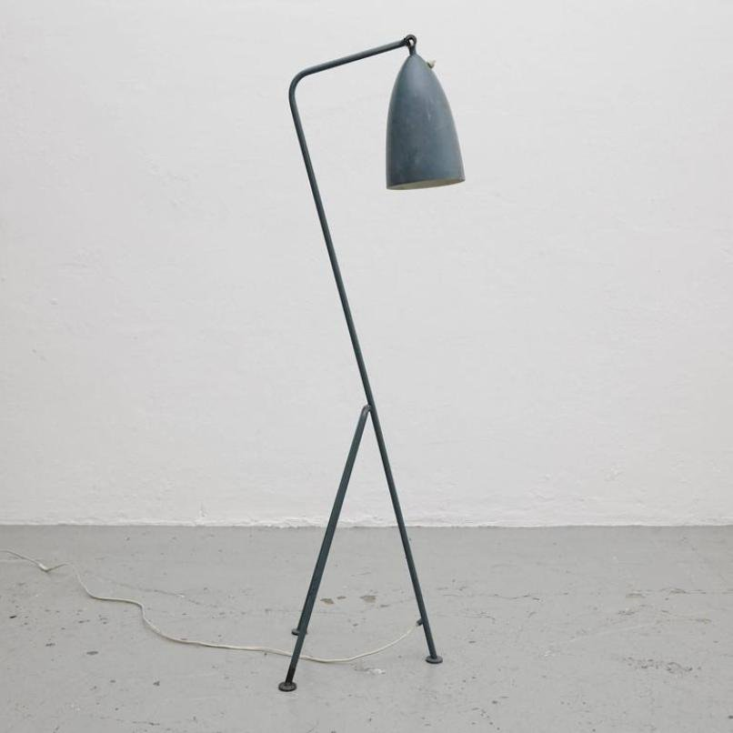 Grasshopper Stehlampe von Greta Magnusson