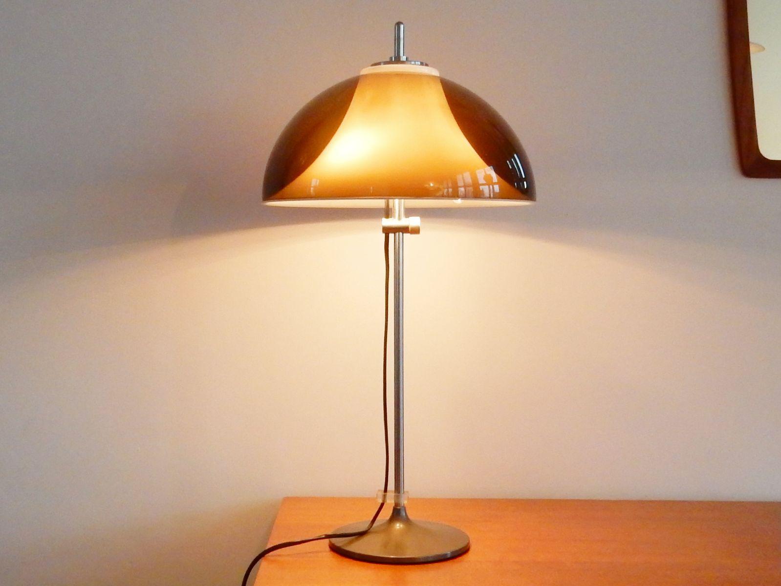 Vintage Schreibtischlampe oder Tischlampe mit Verstellbarer Perspex Le...