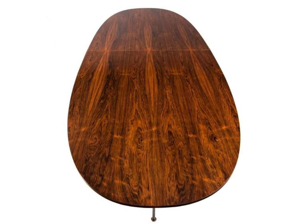 Großer Vintage Palisander Konferenztisch von Bruno Mathsson & Piet Hei...