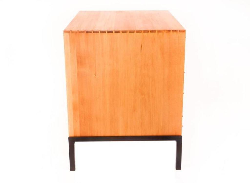 Vintage Flat File Cabinet by Poul Kjærholm for Rud Rasmussen 9. $60,048.00.  Price per piece - Vintage Flat File Cabinet By Poul Kjærholm For Rud Rasmussen For