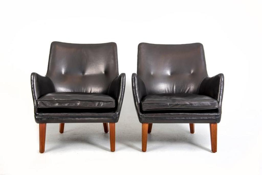 Vintage Sessel von Arne Vodder für Ivan Schlechter, 2er Set