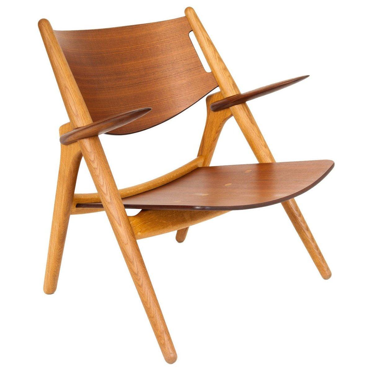 Vintage Modell CH28 Sessel von Hans J. Wegner