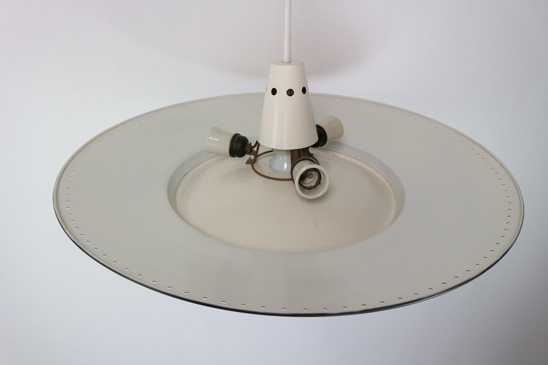 grande lampe 224 suspension par louis kalff pour philips