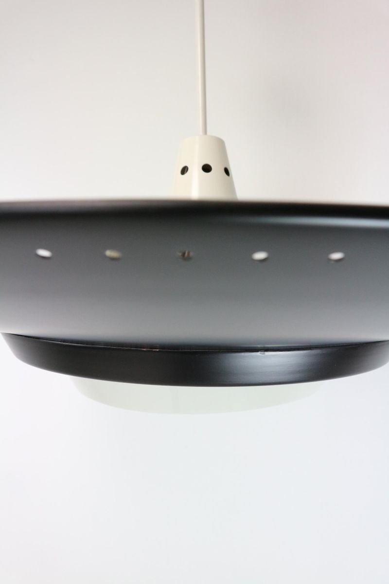 grande lampe 224 suspension par louis kalff pour philips