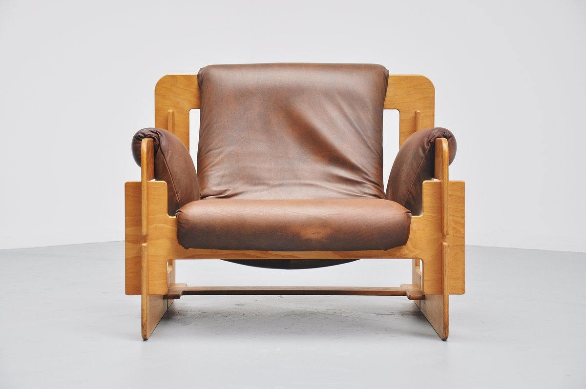 Mid Century Plywood Lounge Chair By Arne Jacobsen For