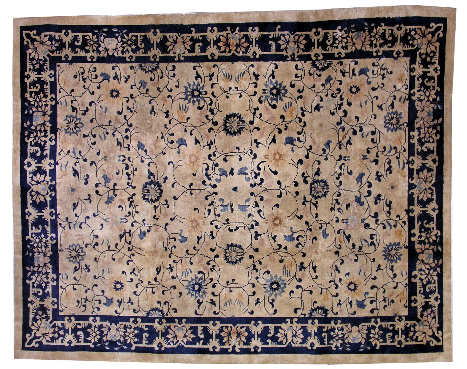 Antique Chinese Peking Handmade Rug 1900s For Sale At Pamono
