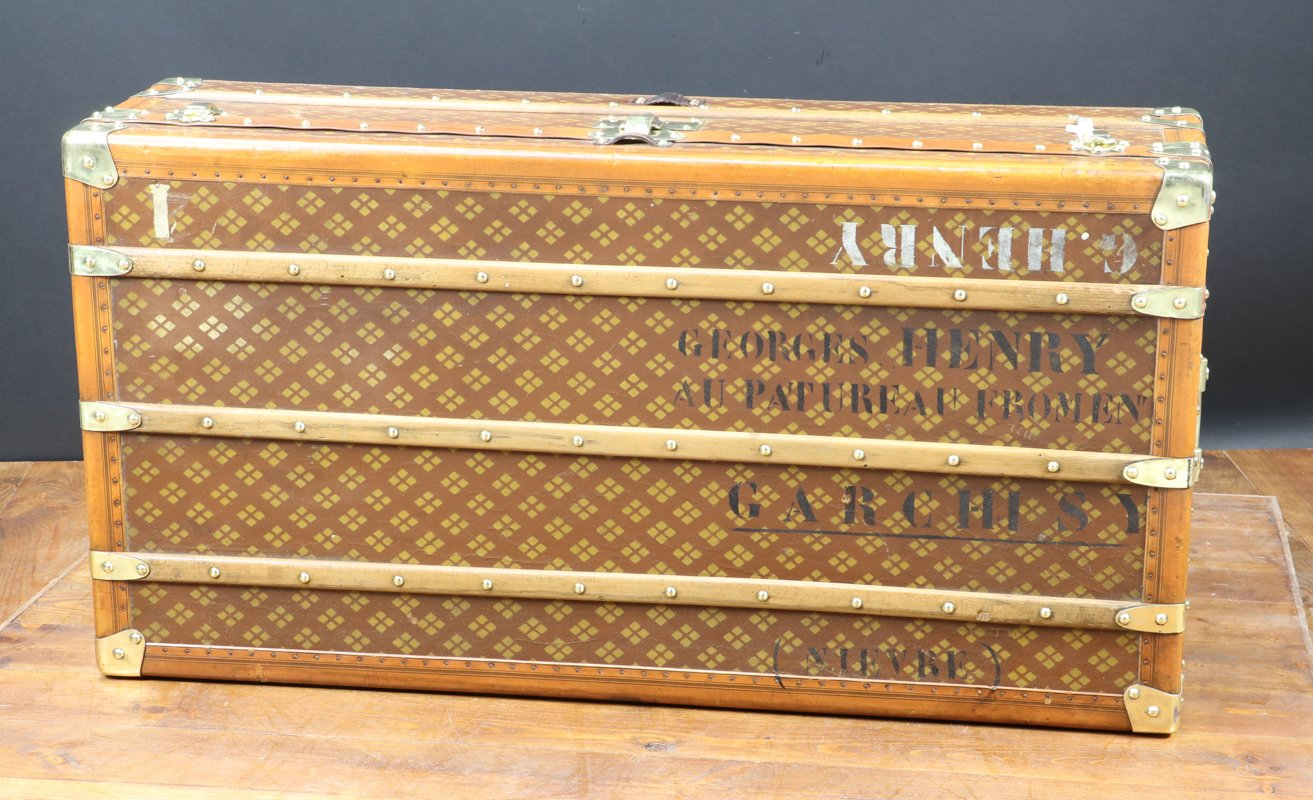 Cabin Trunk from Aux Etats Unis, 1920s for sale at Pamono