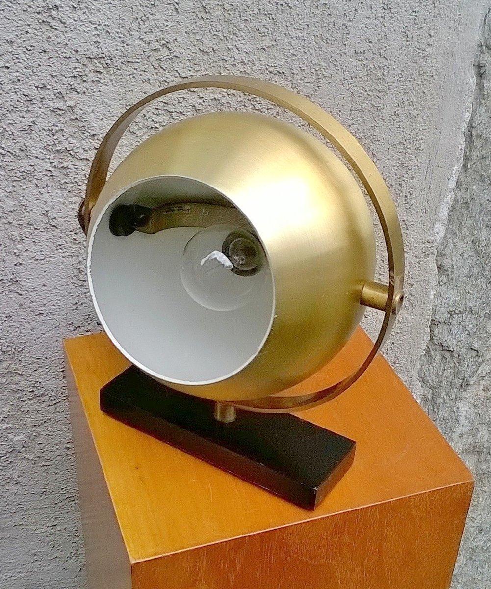 Messing Tischlampe von Stilux, 1960er