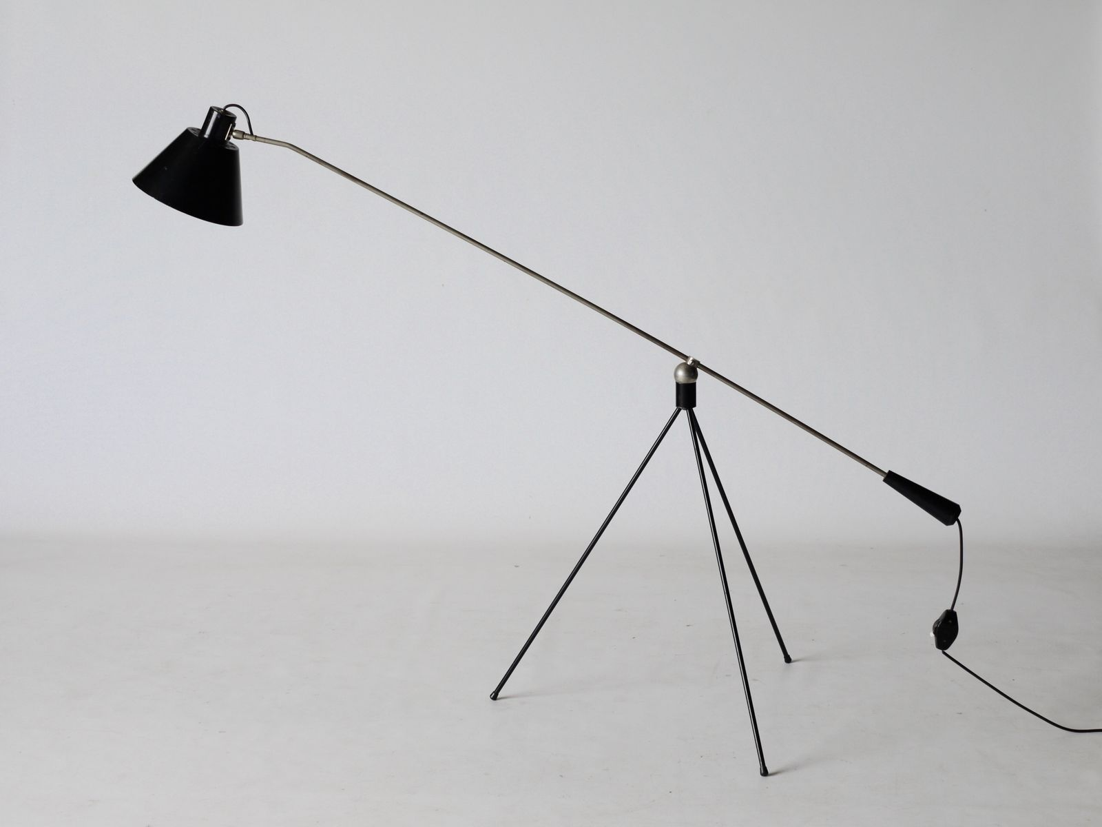 Vintage Magneto Stehlampe von H.fillekes für Artiforte, 1950er