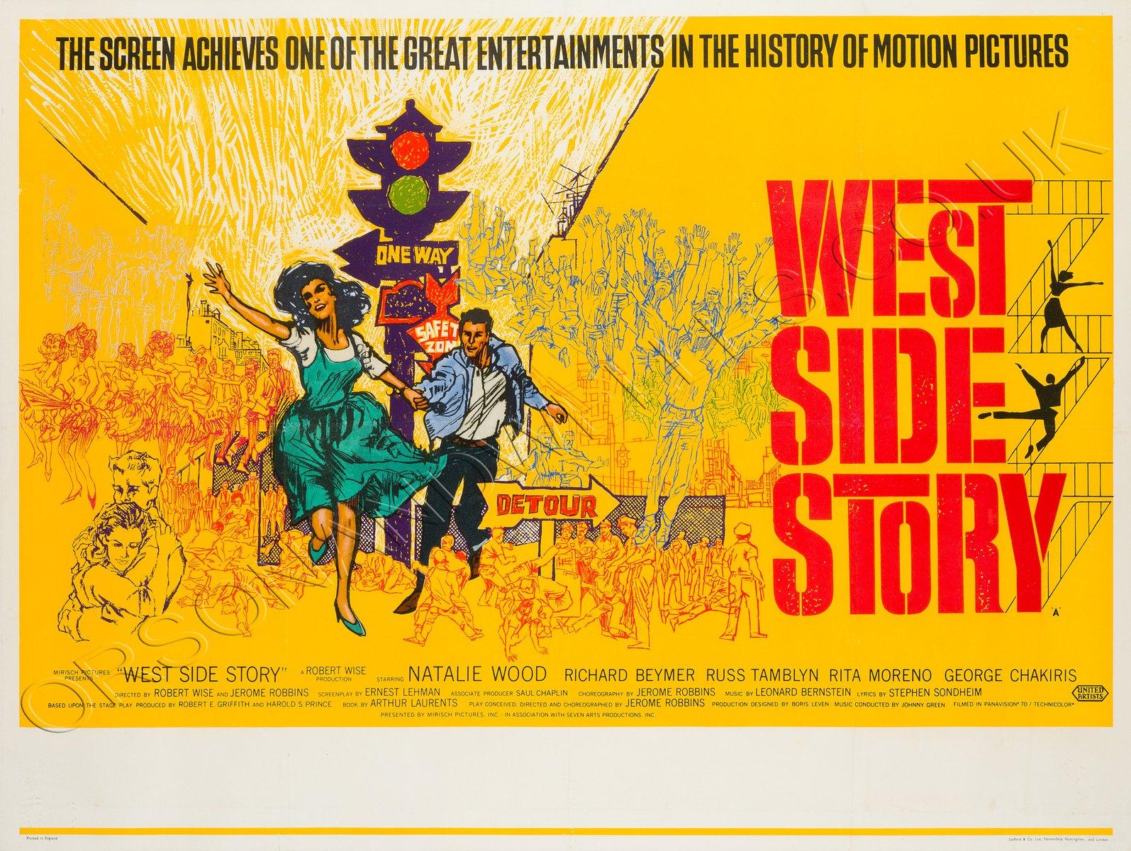 Image result for west side story 1961