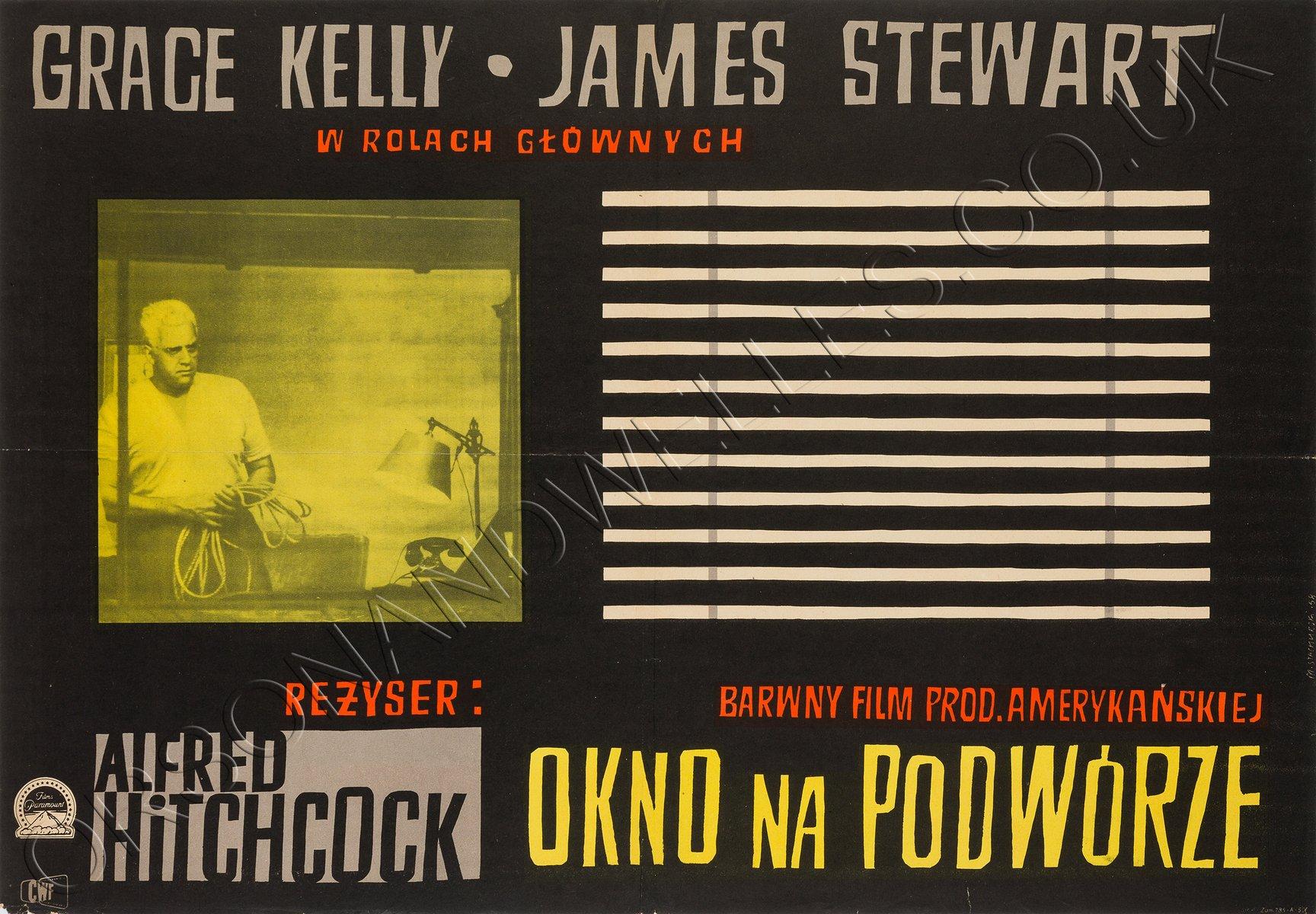 Poster del film la finestra sul cortile di witold janowski in vendita su pamono - La finestra sul cortile film completo ...