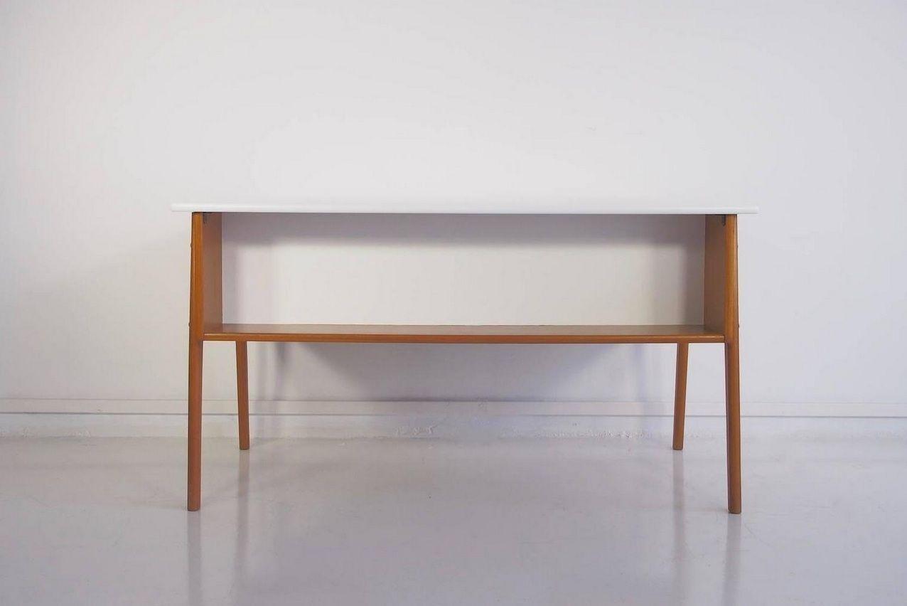 Beau ikea hemnes bureau with add on unit light brown cm