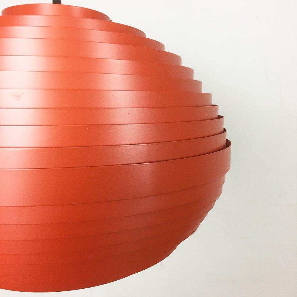 gro e rote sterreichische h ngelampe von vest 1960er bei pamono kaufen. Black Bedroom Furniture Sets. Home Design Ideas