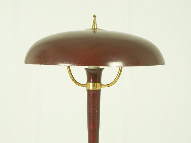 Lampada Da Tavolo Vintage In Ghisa Italia Anni 50 In Vendita Su Pamono