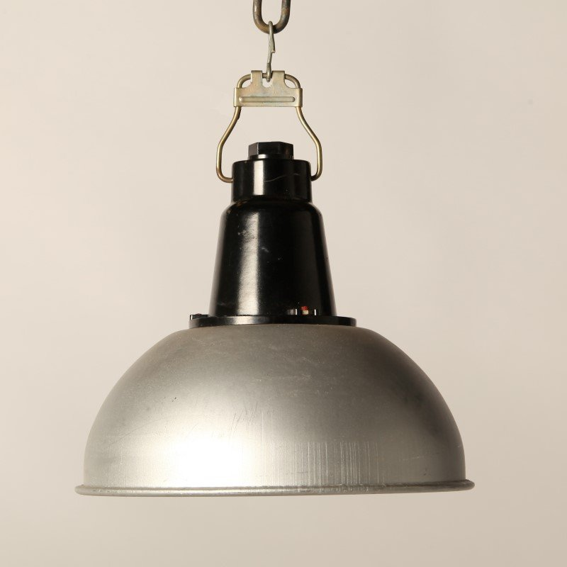 Russian Industrial Pendants: Vintage Russian CCCP Pendant Lamp For Sale At Pamono
