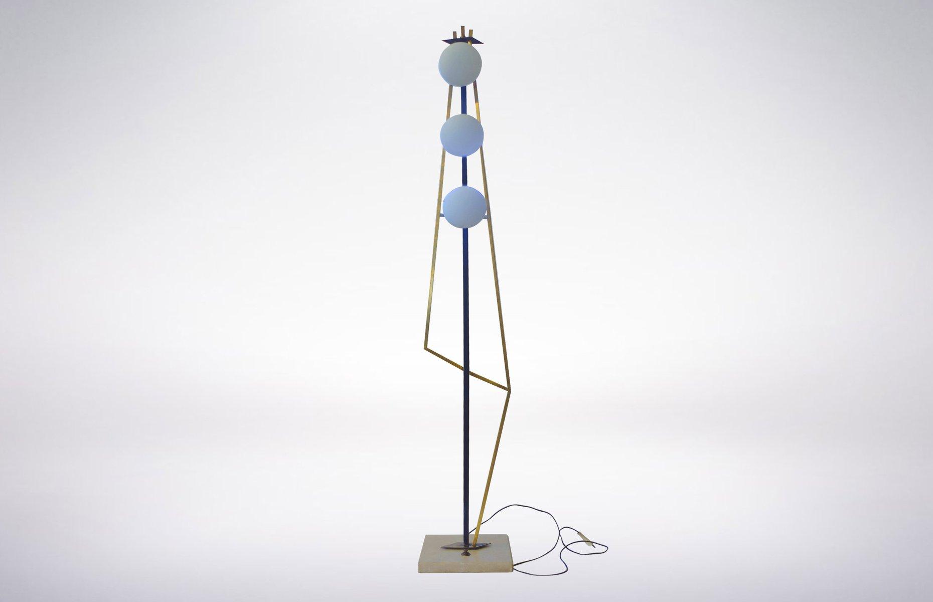 Geometrische Stehlampe von Stilnovo, 1960er