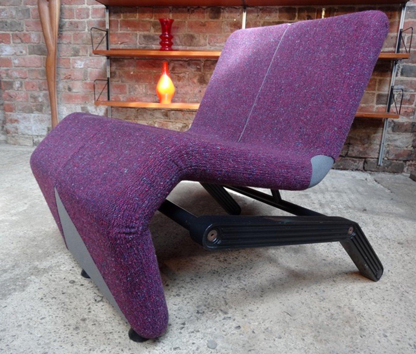 Stuhl von Thierry Belt für Artifort, 1975