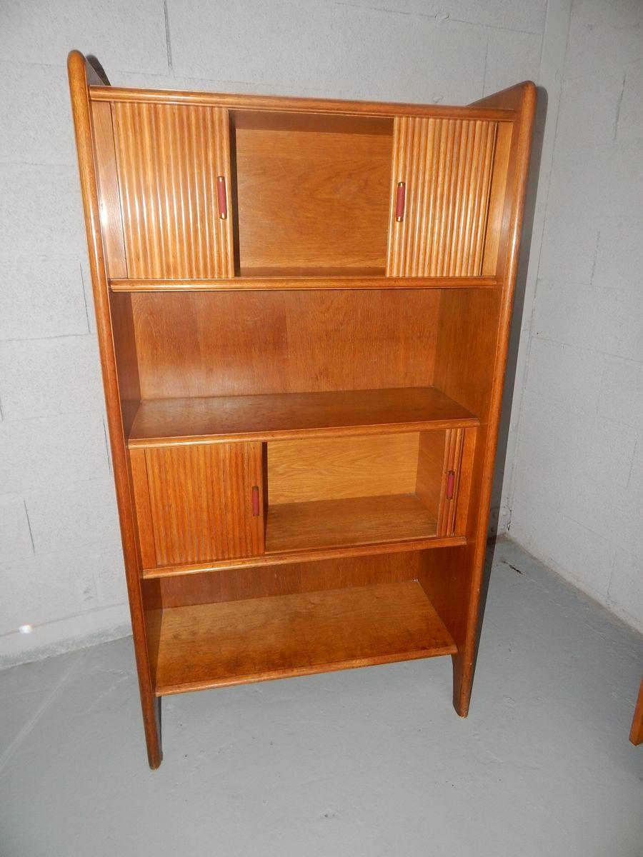 franz sisches vintage b cherregal bei pamono kaufen. Black Bedroom Furniture Sets. Home Design Ideas