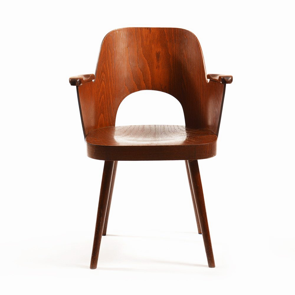 Exceptionnel Mid Century Armchair By Oswald Haerdtl For TON