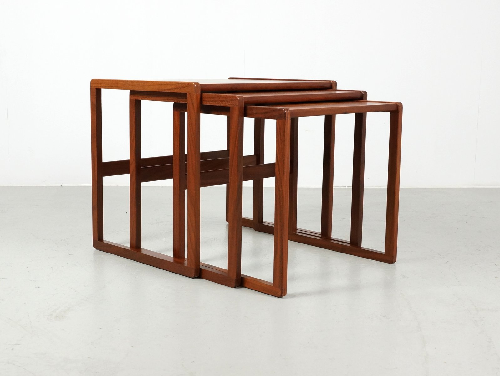 Mid Century Teak Nesting Tables From G Plan Set Of 3