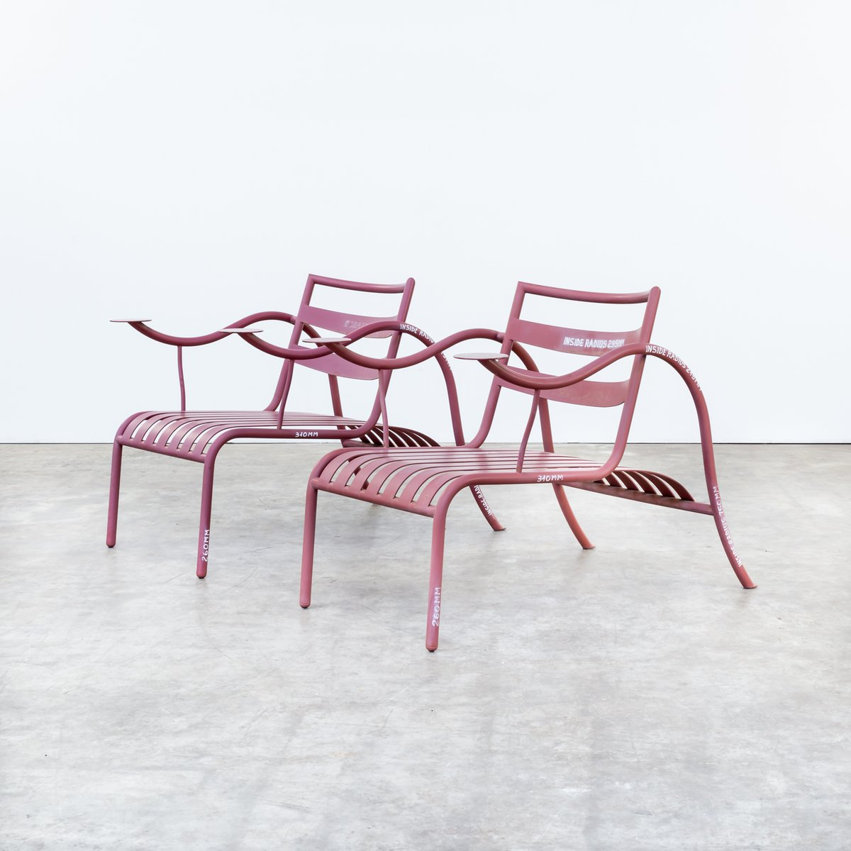 Thinking Man Chairs By Jasper Morrison For Capellini 1980s Set Of 2